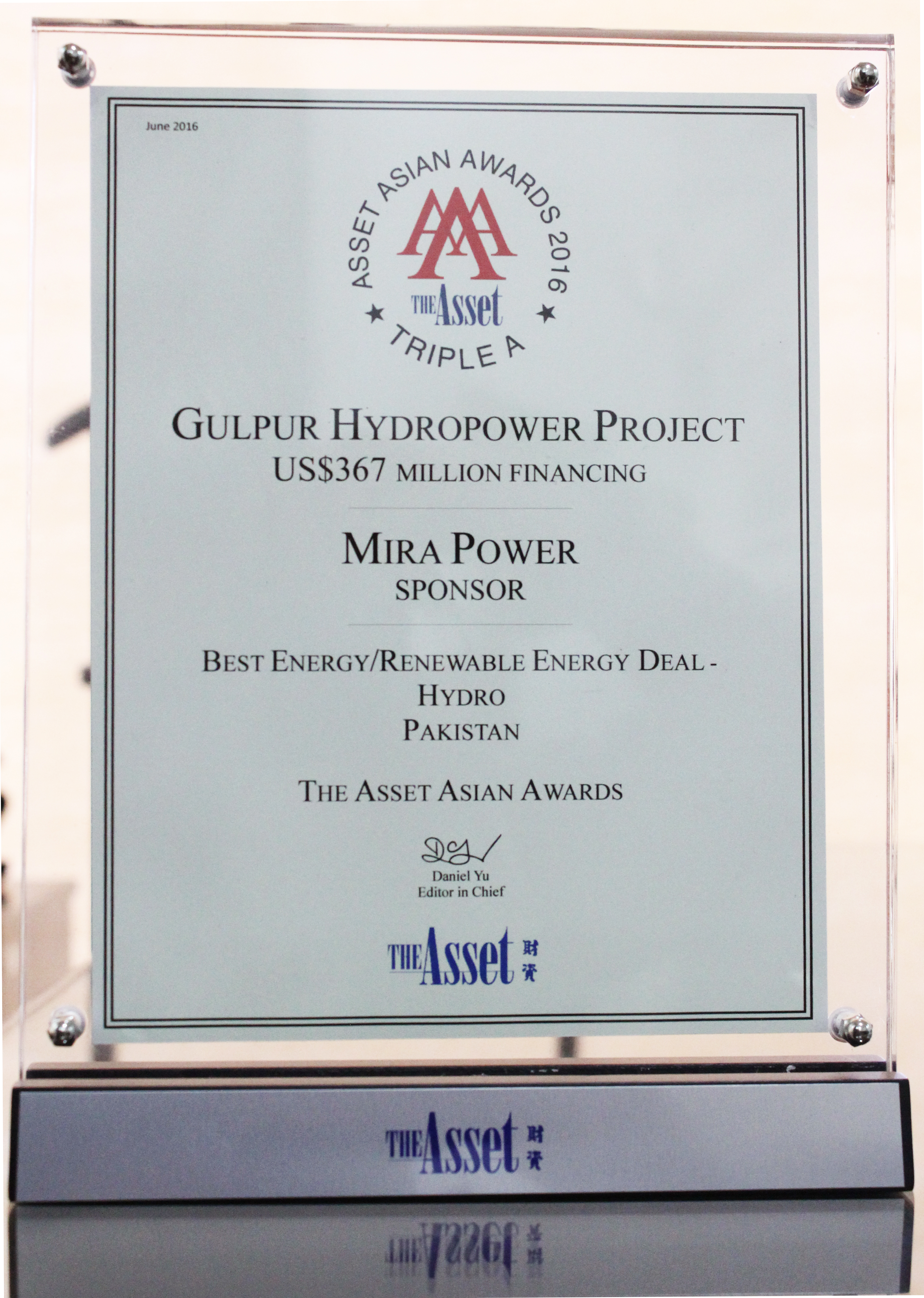 Mira Power Limited